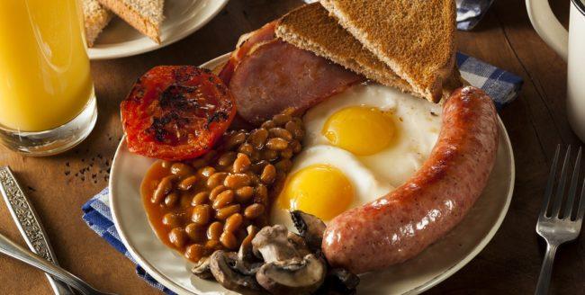 Micul dejun englezesc