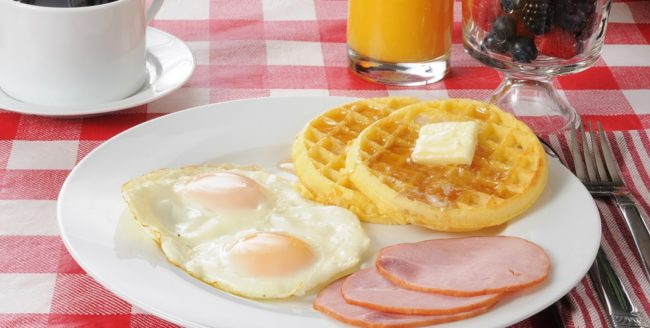 Micul dejun în Canada