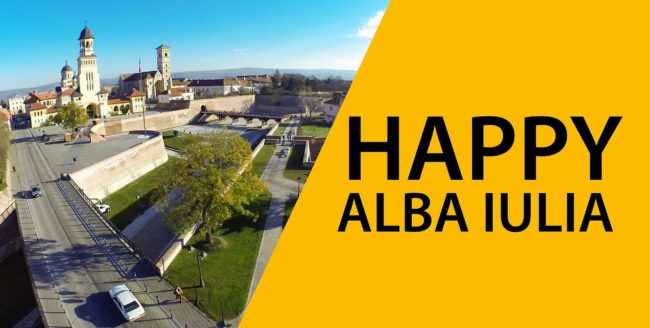 Happy in Alba-Iulia