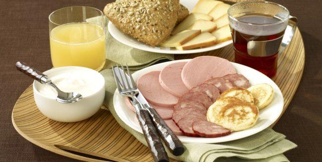 Micul dejun în Rusia