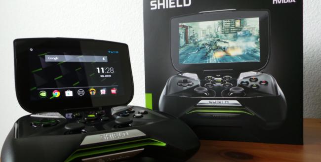 Nvidia Shield - noul  gamepad cu ecran