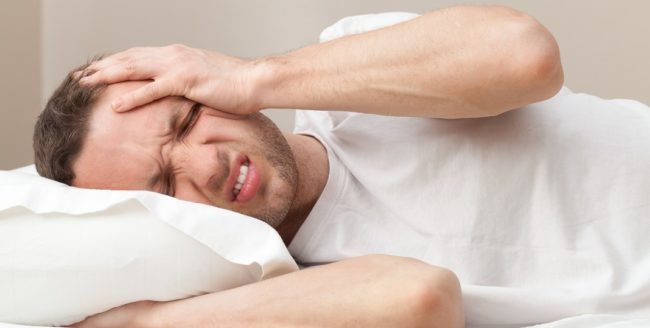 barbat-adormit