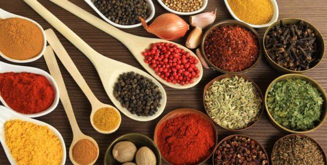 Condimente benefice pentru sănătatea ta