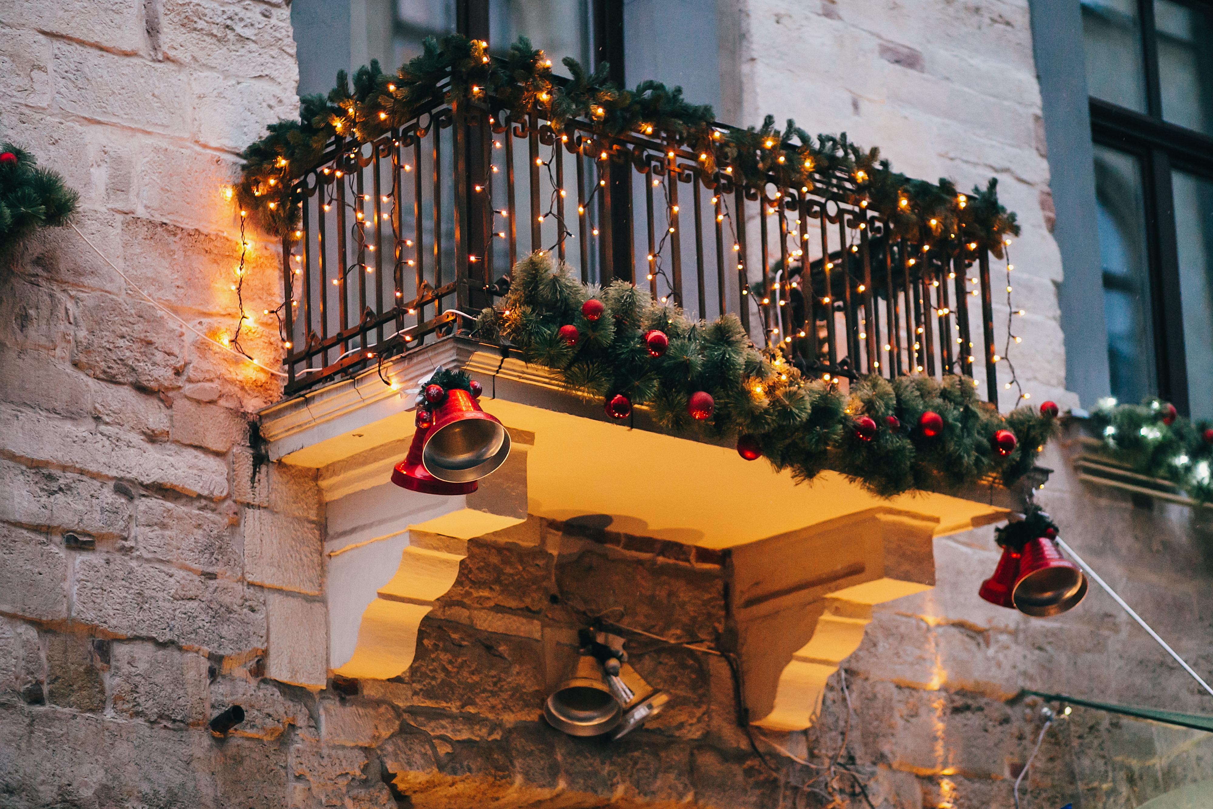 balcon Craciun