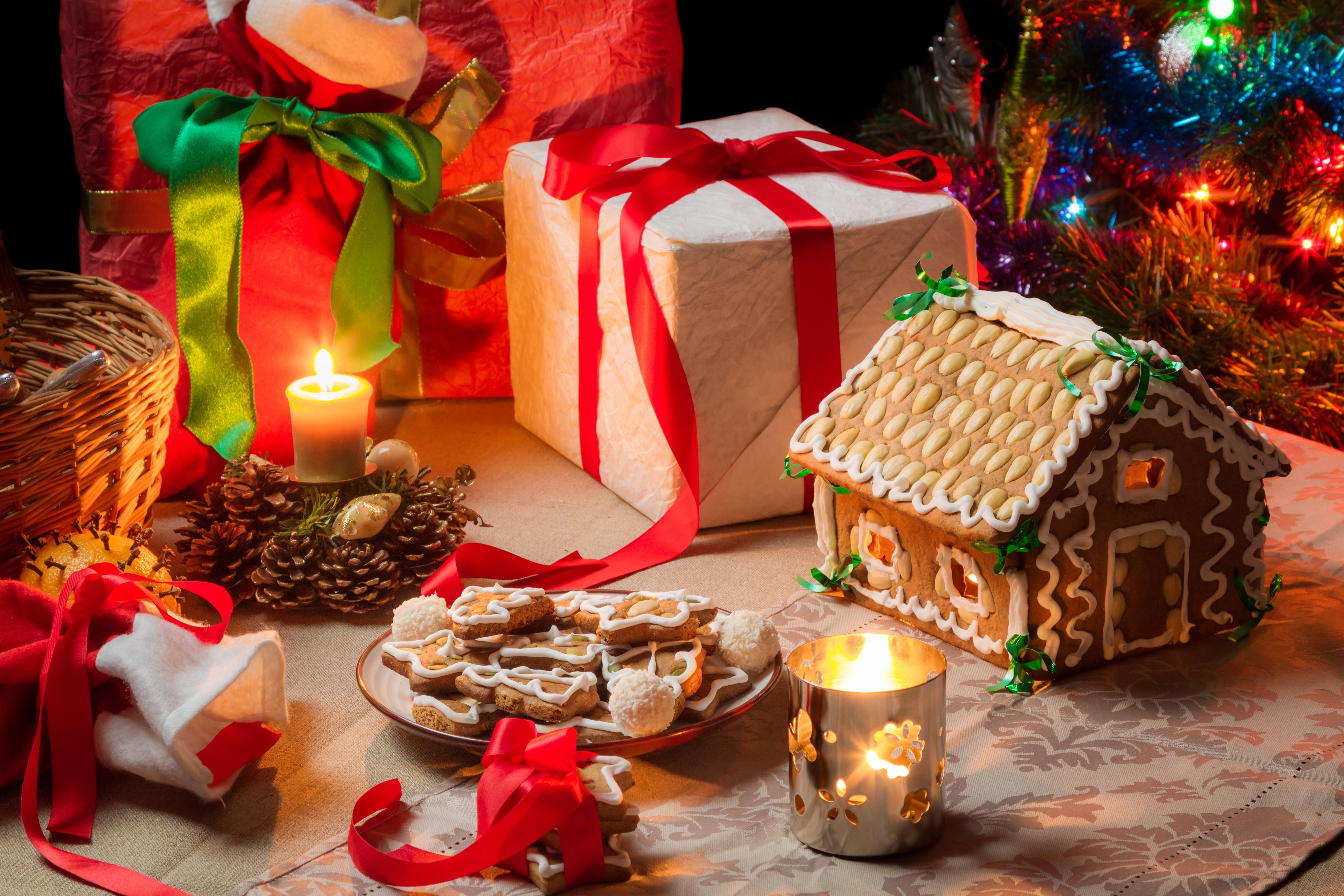 Hol decorat Crăciun