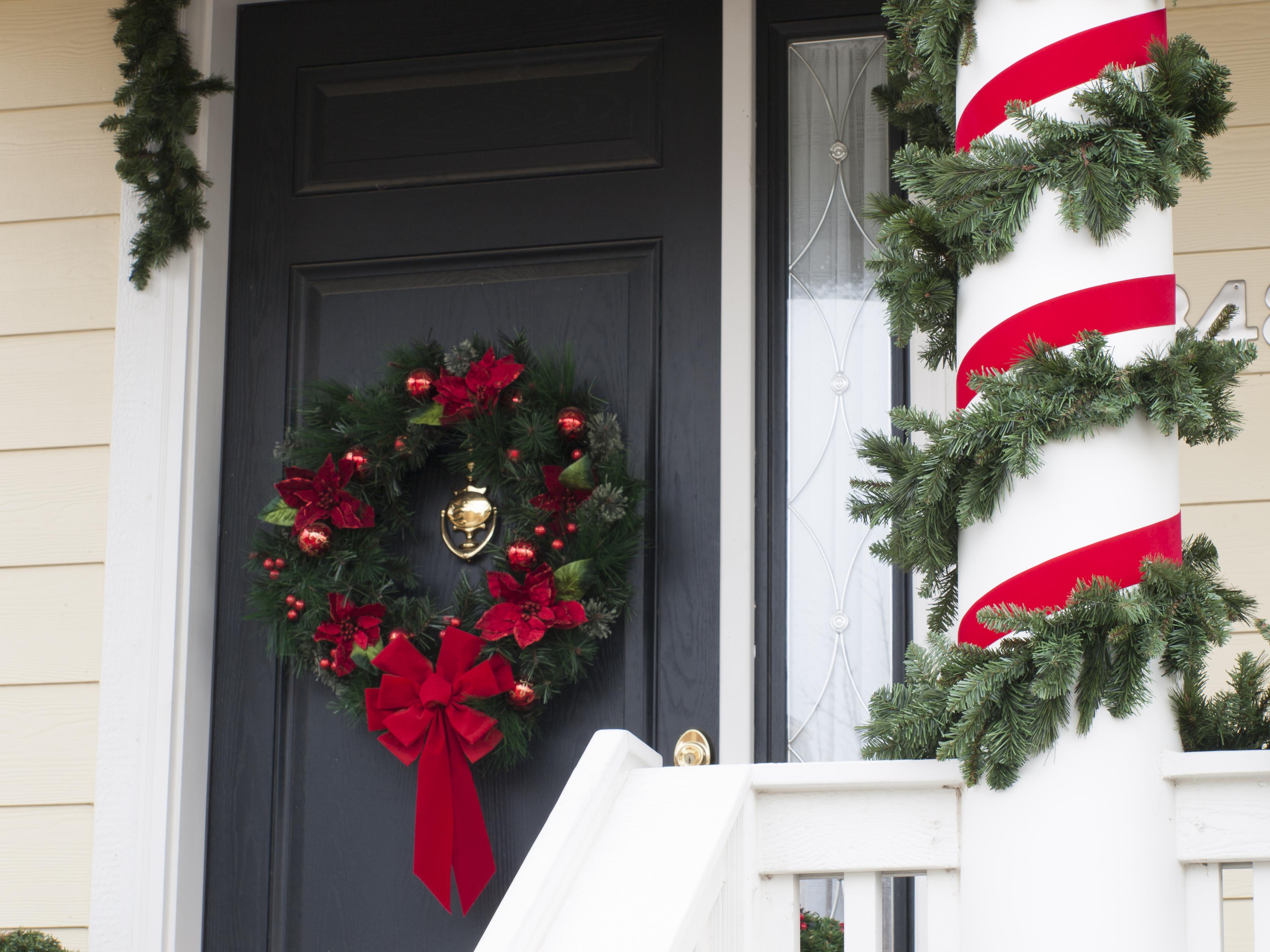 ușă Crăciun