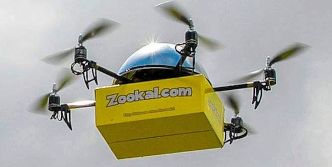 Livrările prin intermediul dronelor se află în teste în China