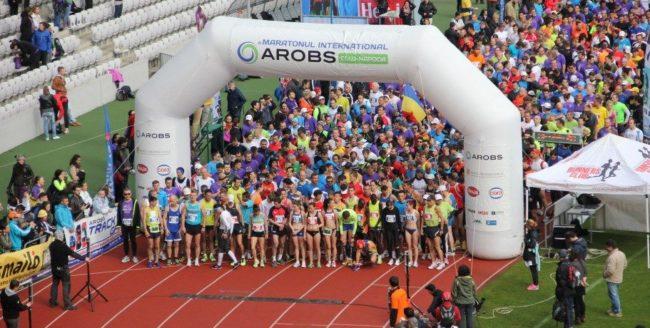 Maratonul Internațional AROBS Cluj-Napoca are loc duminică