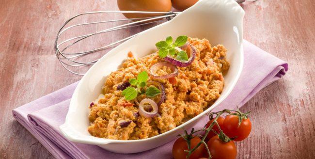 omletă toscană
