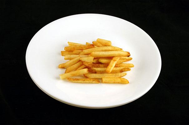 200 calorii cartofi prăjiți