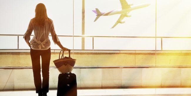 Cosmeticele în călătoria cu avionul
