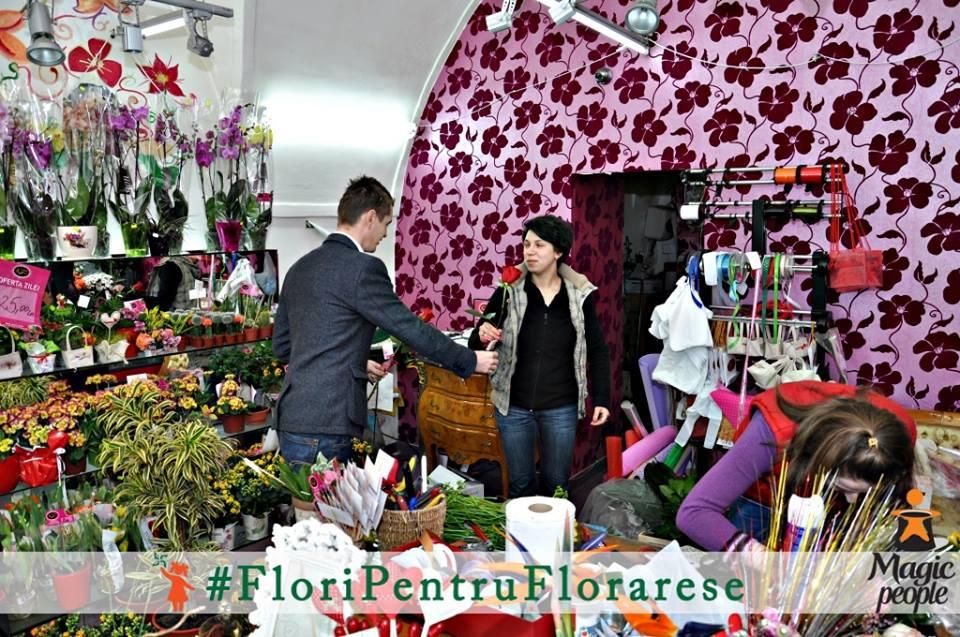 flori pentru florarese