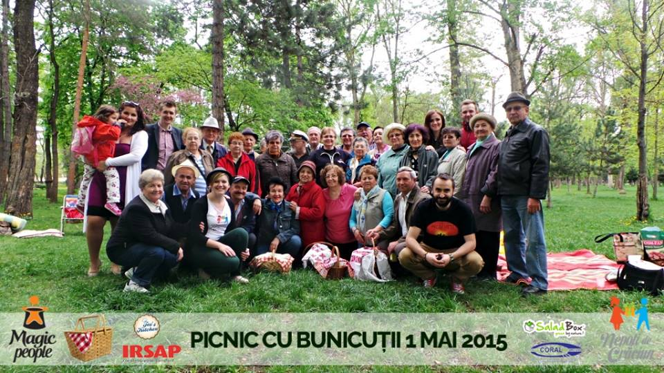 picnic cu bunicutii