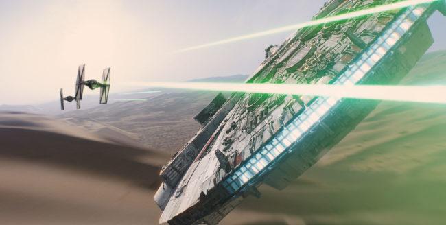 Un scurt clip Star Wars, printre primele clipuri 360º de pe Facebook