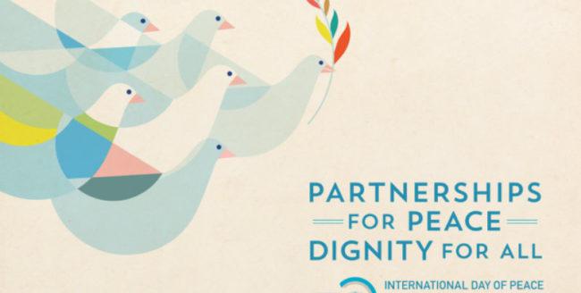 Ziua Internațională a Păcii – 21 septembrie