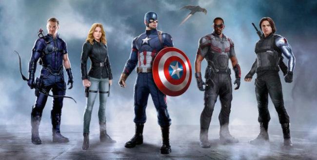 """Primul trailer al filmului """"Captain America: The Civil War"""" va fi lansat în decembrie 2015"""