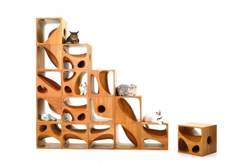 mobila pentru pisici