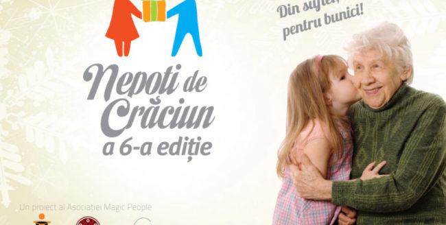 """Clujenii pot deveni """"Nepoţi de Crăciun"""" pentru o zi"""