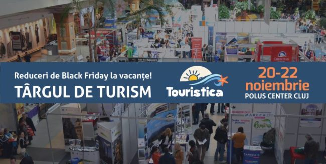Black Friday la vacanțe: sute de oferte turistice în acest weekend la Târgul de Turism Touristica