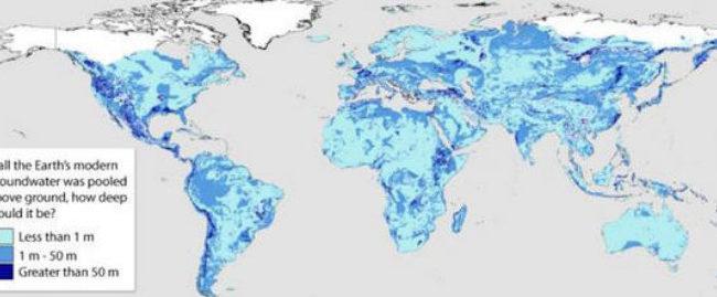 A fost realizată o hartă a rezervelor de apă dulce de pe Pământ
