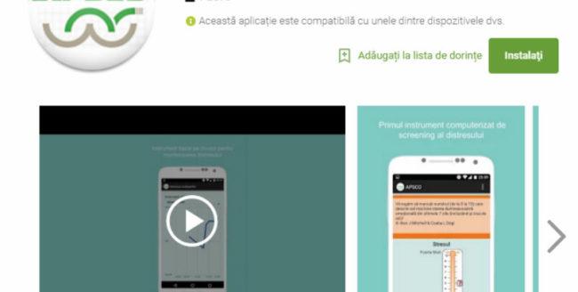 Aplicație mobilă pentru evaluarea psihică a bolnavilor de cancer, lansată la Cluj