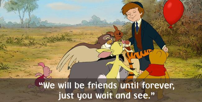 10 replici comice spuse de Winnie The Pooh