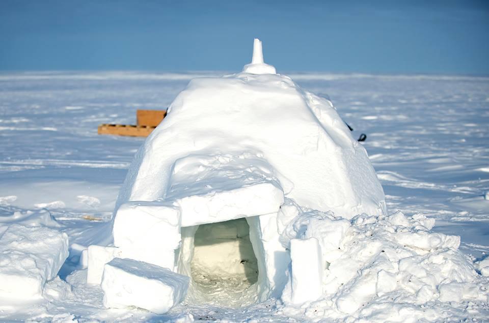constructia unui iglu