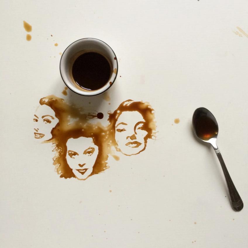 fete in cafea