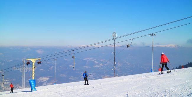 Stațiuni ideale pentru a merge la schi în weekend