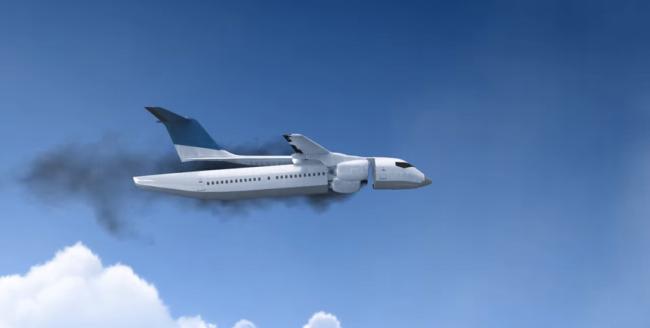 Un avion cu cabină detașabilă a fost inventat de un inginer ucrainian