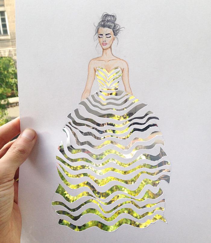 rochie decupata