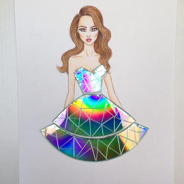 rochie din cd