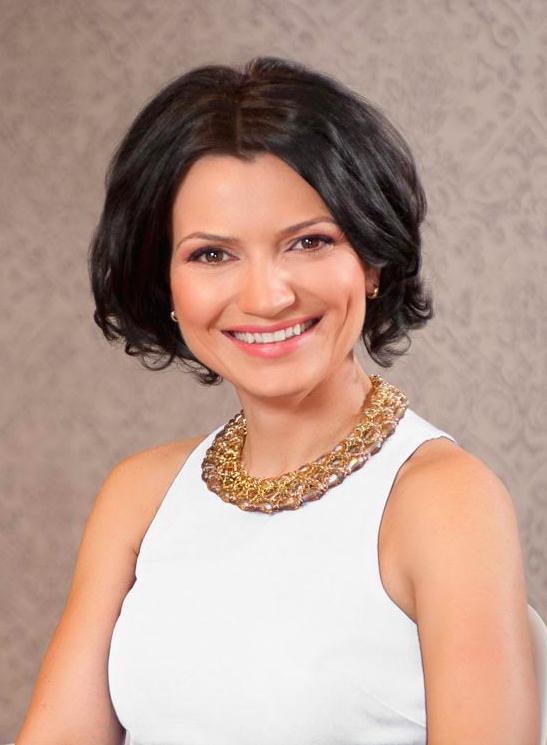 Speaker Larisa Petrini The Woman 2016