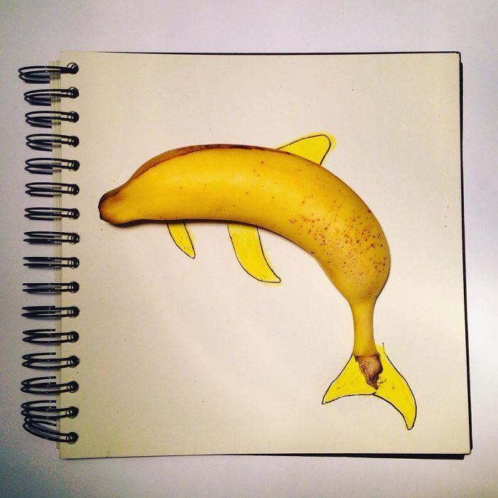 delfin din banana