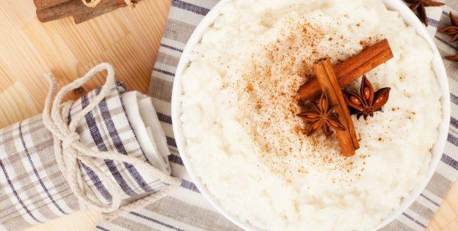Budincă de orez grecească