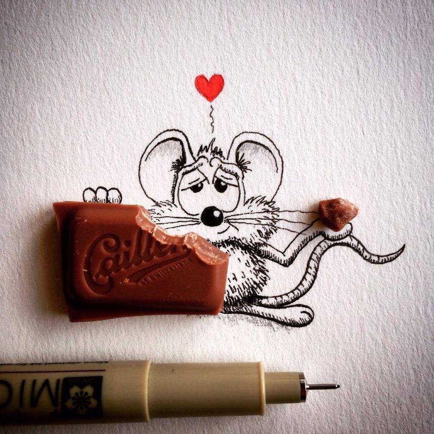 soricelul-rikiki-mananca-ciocolata