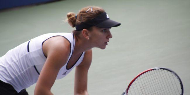 Jucătoarea româncă de tenis Simona Halep, nominalizată de WTA pentru lovitura lunii martie