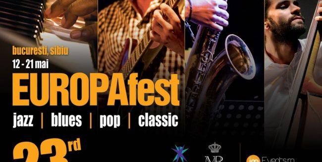 Jazz, blues, pop și muzică clasică la EuropaFest 2016