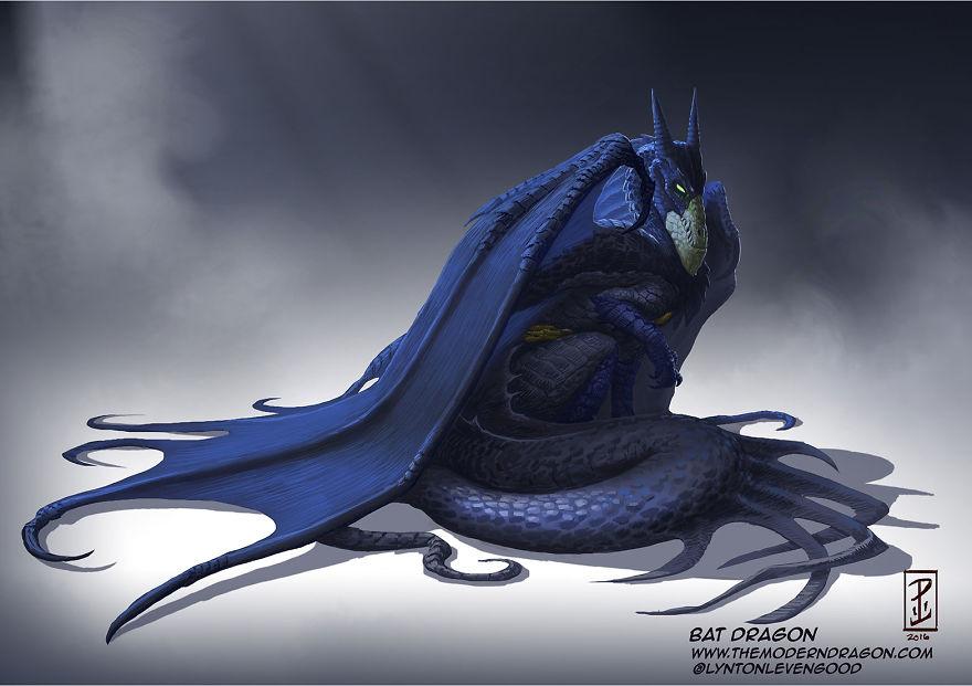 dragon batman
