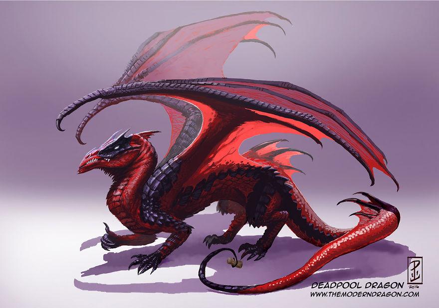 dragon deadpool