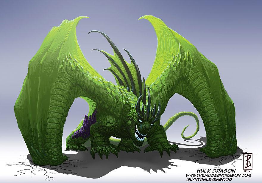 dragon hulk