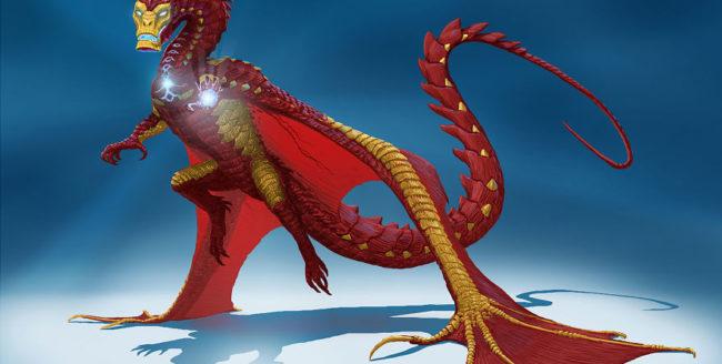 dragoni supereroi