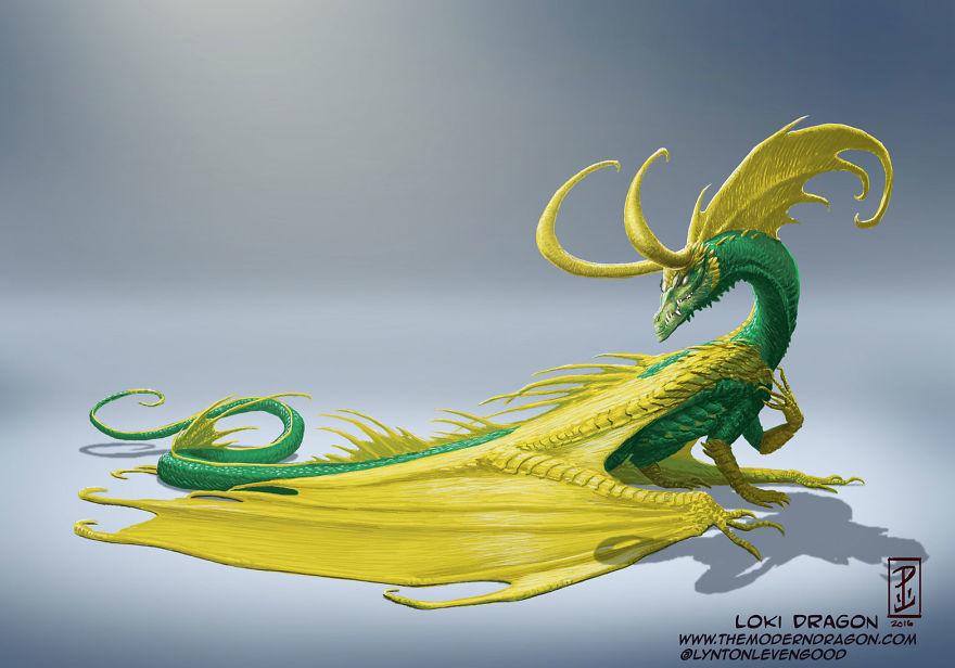 dragon loki