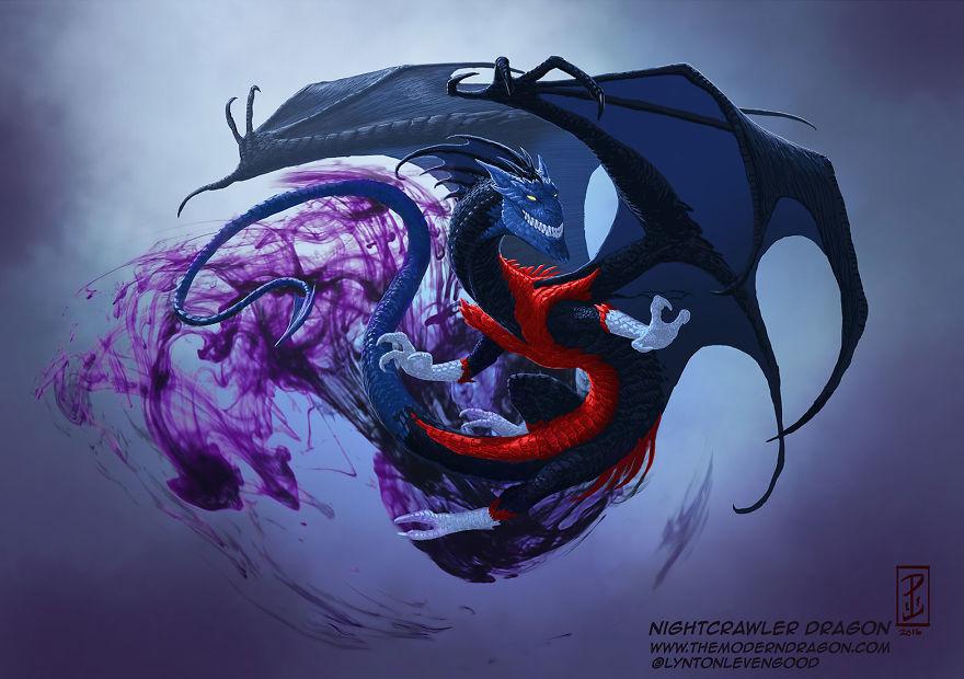 dragon nightcrawler