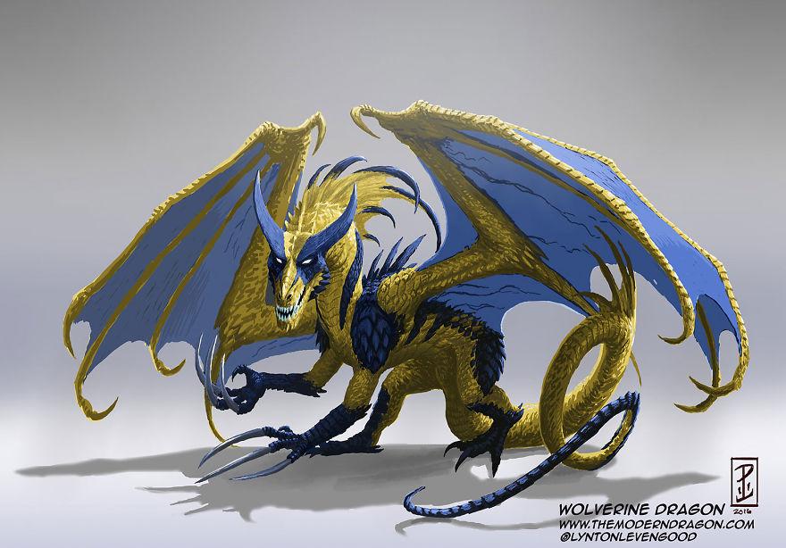 dragon wolverine