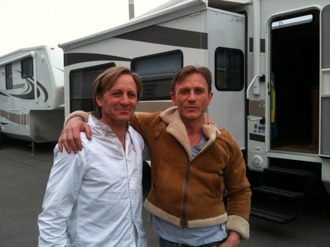 Daniel Craig si dublura sa Garvin Cross