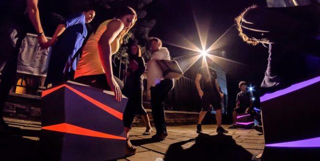 Spectacole stradale, concerte și expoziții, într-o singură noapte la Cluj Never Sleeps