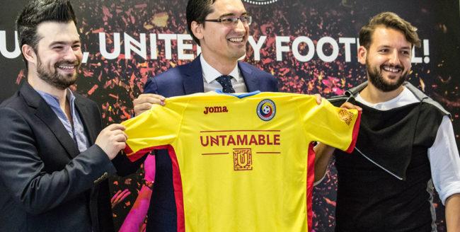 Parteneriat inedit între Festivalul Untold și Federația Română de Fotbal