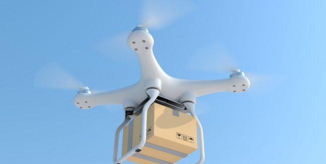 Drone care livrează colete, testate de Google