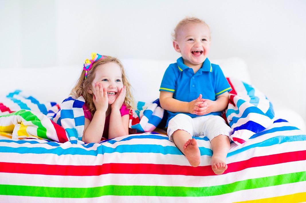 lenjerie de pat vesela pentru copii
